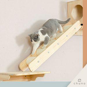 บันไดแมวติดผนัง Chuno แบบขั้นบันได